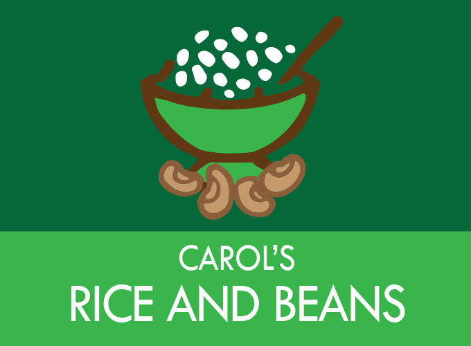 Carol´s Rice and Beans