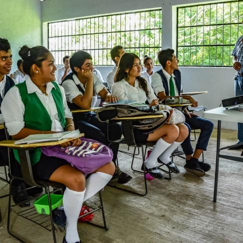 School, classroom,  Bachilleres