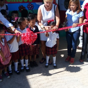 New classroom for Niños Heroes school